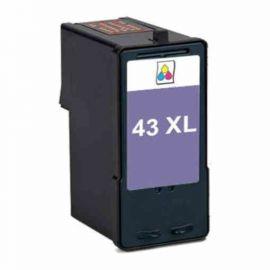 Remanufacturado Lexmark 43XL Cartucho de Tinta Genérico Tricolor
