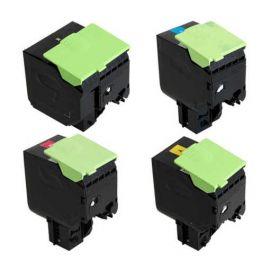 Compatible Lexmark CX410 CX510 Multipack Toner Generico