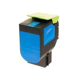 Compatible Lexmark CS417 CX417 CS517 CX517 Toner Generico Cian