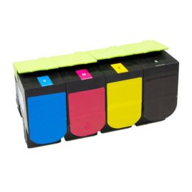 Compatible Lexmark CS417 CX417 CS517 CX517 Multipack Toner Generico