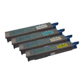 Oki C3300 C3400 C3450 C3600 Toner Genérico Pack 4 Colores