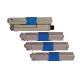 OKI C510 C530 MC561 Toner Genérico Pack 4 Colores