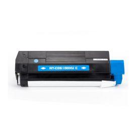Compatible OKI C5100 C5200 C5400 C5250 C5450 C3100 C3200 Toner Generico Cian
