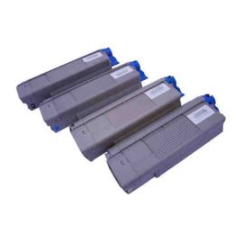 OKI C5850 C5950 MC560 Toner Genérico Pack 4 Colores