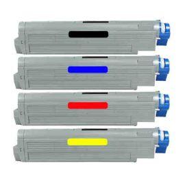 OKI C9600 C9800 Toner Genérico Pack 4 Colores