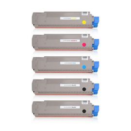 Compatible OKI Executive ES8430 ES8460 Multipack Toner Generico
