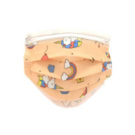 ProSafe Pack 50 Mascarillas Higienicas Infantiles Desechables - 3 Capas - BFE>95%