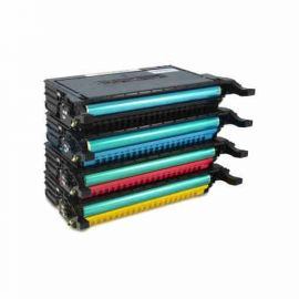 Samsung CLP610 CLP660 Toner Genérico Pack 4 Colores