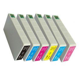 Epson T5591 T5592 T5593 T5594 T5595 T5596 Genérico Pack 6 Colores