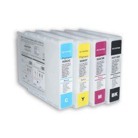 Pack 4 Colores Cartucho de Tinta Epson T9081 T9082 T9083 T9084 Compatible