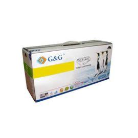 Toner G&G Compatible OKI C610 Amarillo Premium 6000 Paginas