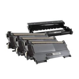Compatible Brother 3XTN2220 + DR2200 Toner + Tambor