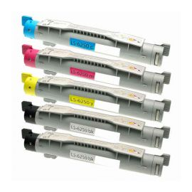 Compatible Xerox Phaser 6250 Multipack Toner Generico